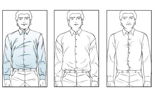 camicie per uomo