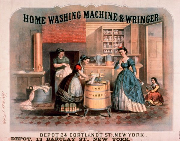 lavatrice primi modelli