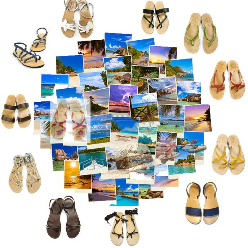 scarpe da spiaggia