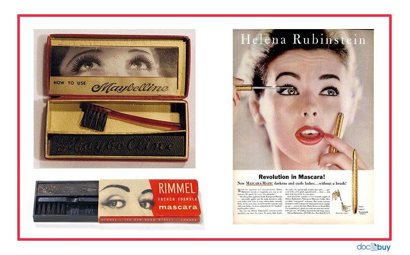 mascara occhi vintage
