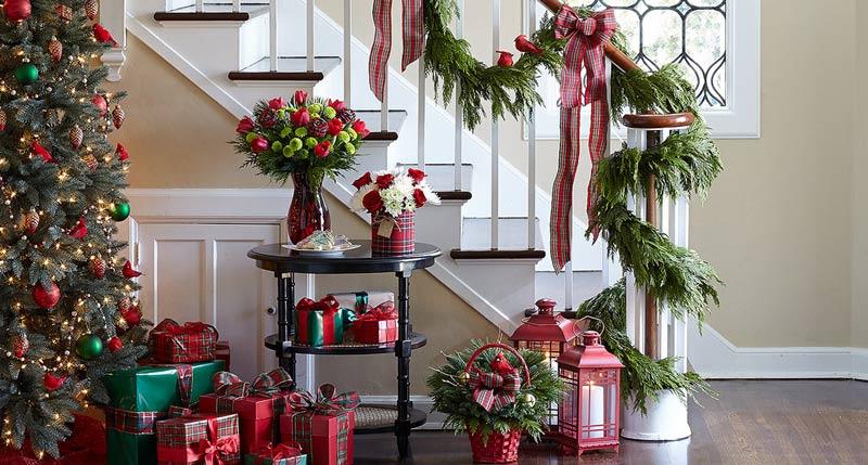Decorazioni natalizie idee spunti e tutorial fai da te - Decorazioni natalizie fai da te per finestre ...