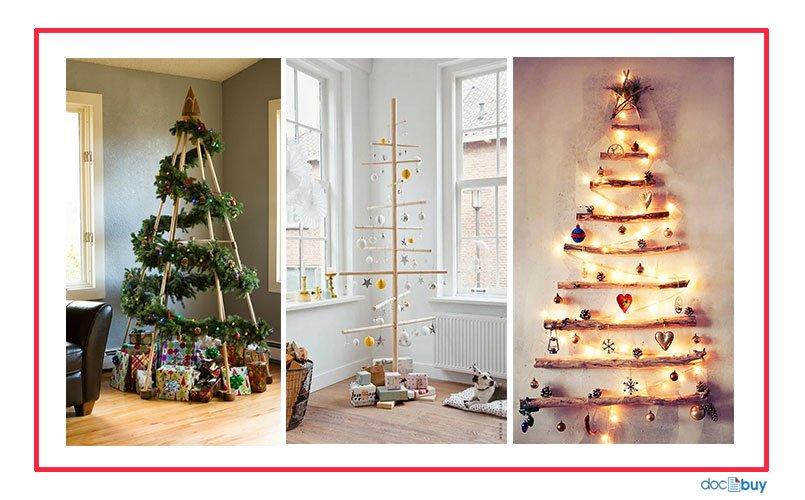 decorazioni natalizie albero legno