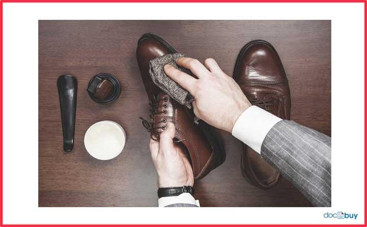 cura della scarpa
