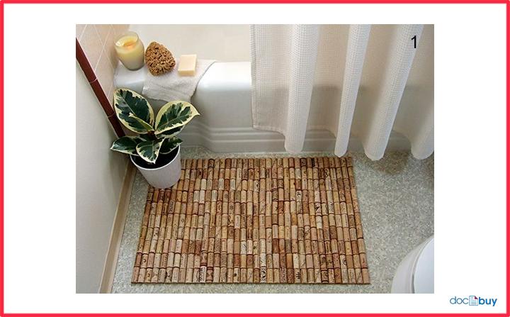 tappi di sughero tutorial tappeto