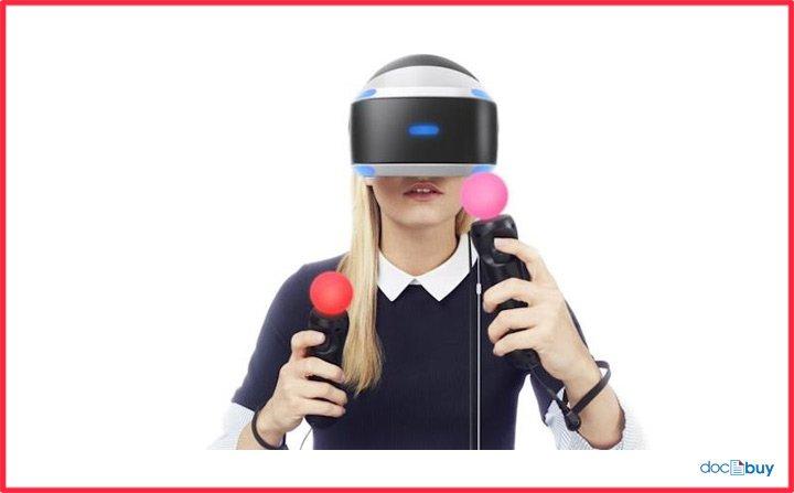 visore vr realtà virtuale controller