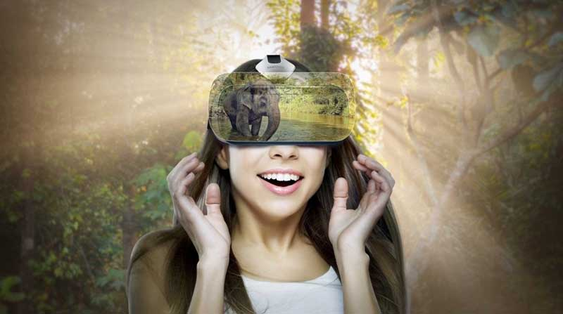 visore vr realtà virtuale