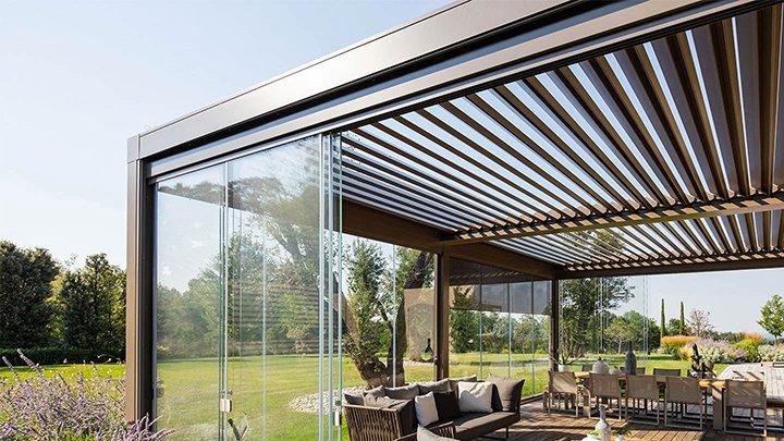 Pergolati Da Giardino In Alluminio : Pergole e tettoie da giardino qual è la soluzione migliore docbuy
