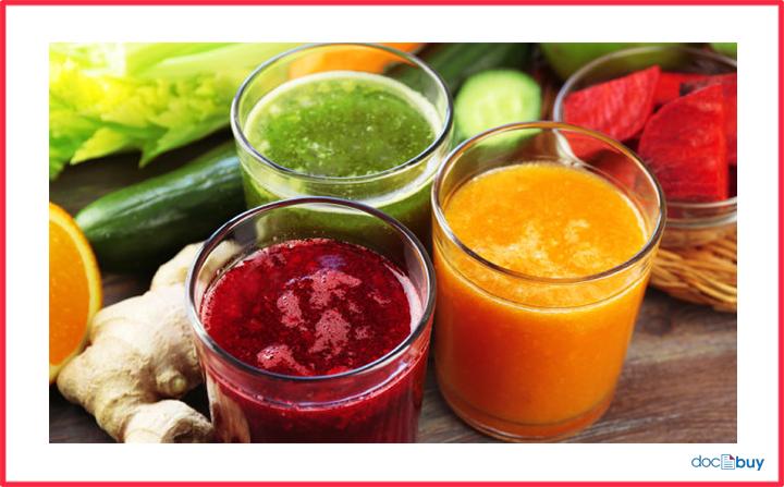 succhi vegetali benefici detox