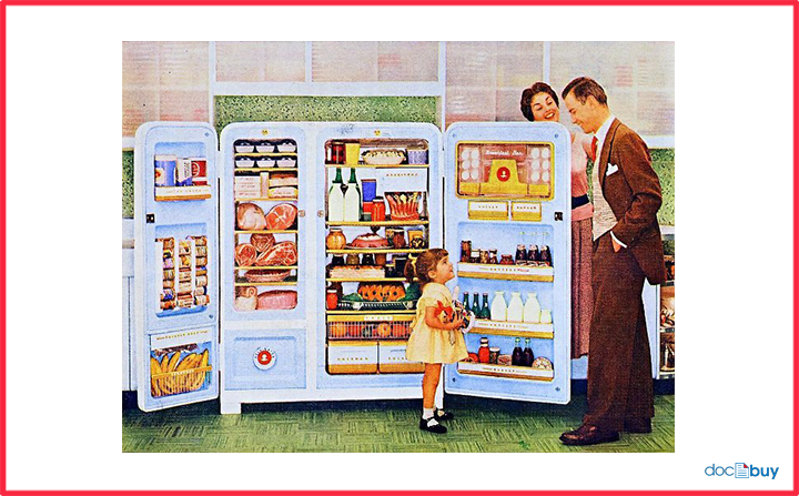 frigorifero origini e storia