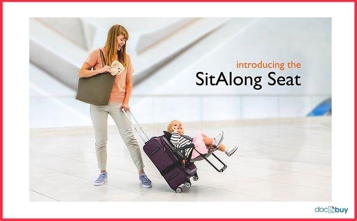 accessori da viaggio trolley sedia