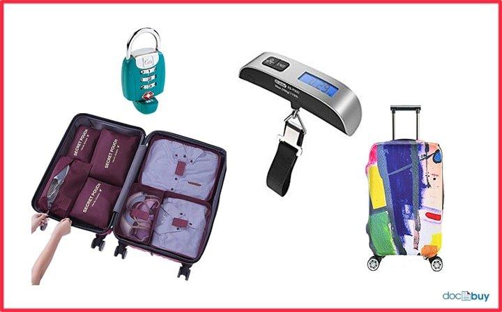 accessori da viaggio per valigia