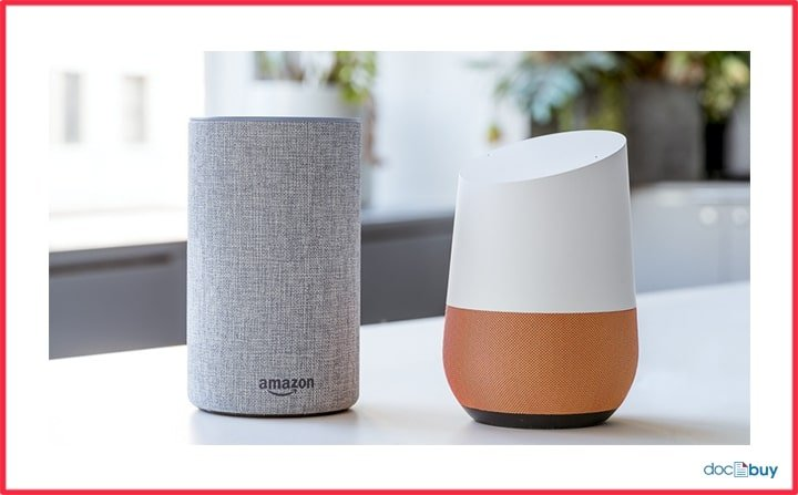 smart speaker amazon google
