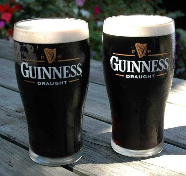 Una birra Stout - la Guinness