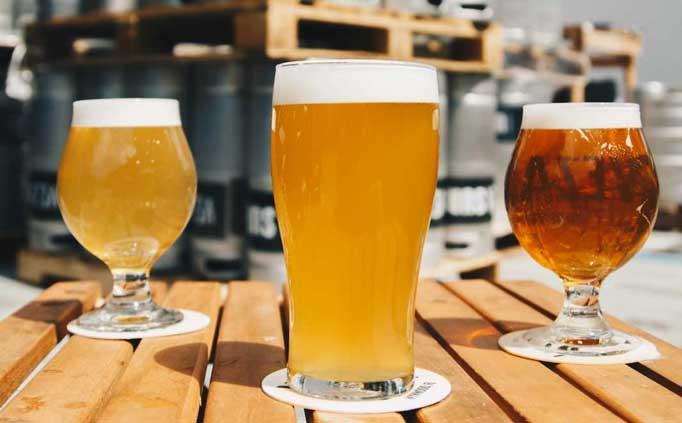 birre chiare ambrate scure